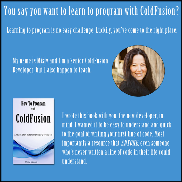 How to Program with ColdFusion Book
